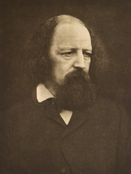 Lord Tennyson (6th August 1809 - 6th October 1892)